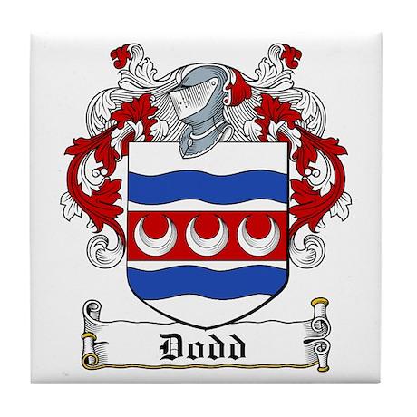 Dodd Coat of Arms Tile Coaster