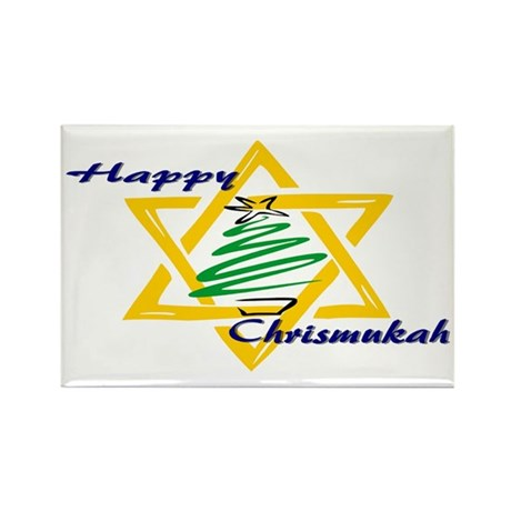 Happy Chrismukah Rectangle Magnet