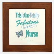 Fabulous Nurse Framed Tile