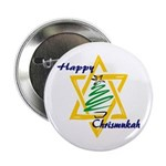 Happy Chrismukah Button