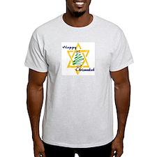 Happy Chrismukah Ash Grey T-Shirt