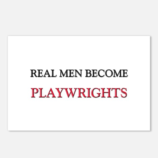 Real Men Become Playwrights Postcards (Package of