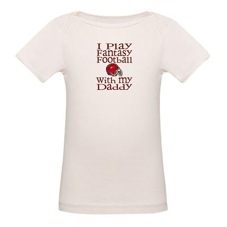 Fantasy Football with Daddy Organic Baby T-Shirt