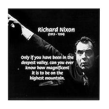 Motivation Richard Nixon Tile Coaster