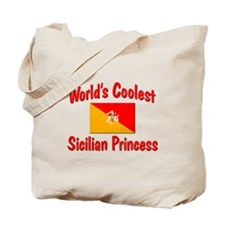 Coolest Sicilian Princess Tote Bag