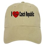I Love Czech Republic Cap