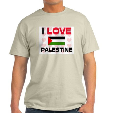 I Love Palestine Light T-Shirt