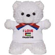 I Love Palestine Teddy Bear