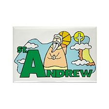St. Andrew Rectangle Magnet