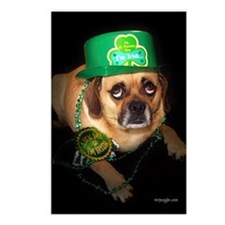 St. Pat's Day Postcards (Package of 8)