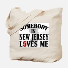 Somebody In New Jersey Tote Bag