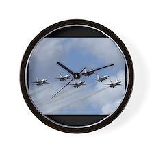 Thunderbirds Head On Wall Clock
