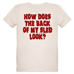 Back of my Sled Organic Kids T-Shirt