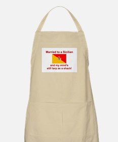 Married To A Sicilian BBQ Apron