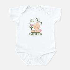 1st Easter Baby Girl Infant Bodysuit