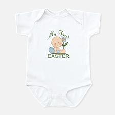 1st Easter Baby Boy Infant Bodysuit