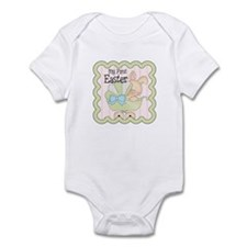 1st Easter Bunny Carriage Infant Bodysuit