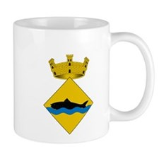 Unique Fish emblem Mug