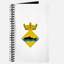 Funny Fish emblem Journal