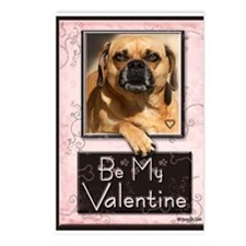 Puggle Love Postcards (Package of 8)