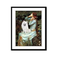 Ophelia / Eskimo Spitz #1 Framed Panel Print
