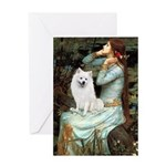 Ophelia / Eskimo Spitz #1 Greeting Card