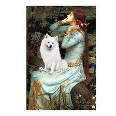 Ophelia / Eskimo Spitz #1 Postcards (Package of 8)