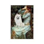 Ophelia / Eskimo Spitz #1 Rectangle Magnet