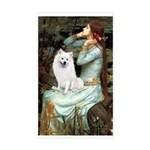 Ophelia / Eskimo Spitz #1 Sticker (Rectangle)