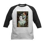 Ophelia / Eskimo Spitz #1 Kids Baseball Jersey