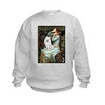 Ophelia / Eskimo Spitz #1 Kids Sweatshirt