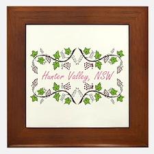 Hunter Valley Scroll Framed Tile