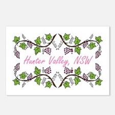 Hunter Valley Scroll Postcards (Package of 8)