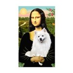 Mona / Eskimo Spitz #1 Sticker (Rectangle)