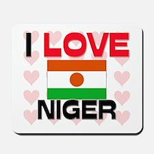 I Love Niger Mousepad