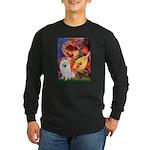 Mandolin / Eskimo Spitz #1 Long Sleeve Dark T-Shir