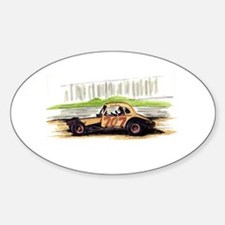 """Old Dirt!"" 707 The Big Donkey Oval Decal"