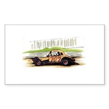 """Old Dirt!"" 707 The Big Donkey Sticker (Rectangula"