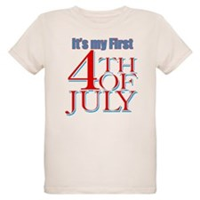 Baby's First Fourth of July T-Shirt