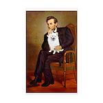 Lincoln / Eskimo Spitz #1 Sticker (Rectangle)