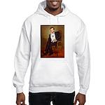 Lincoln / Eskimo Spitz #1 Hooded Sweatshirt