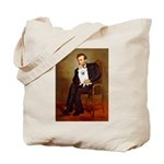 Lincoln / Eskimo Spitz #1 Tote Bag