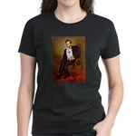Lincoln / Eskimo Spitz #1 Women's Dark T-Shirt