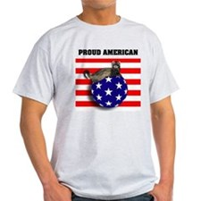 American Flag Ferret Stars & Stripes T-Shirt