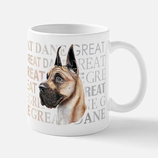 Great Dane Fawn Show Colors Mug
