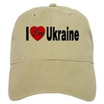 I Love Ukraine Cap