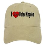 I Love United Kingdom Cap