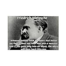 Christian Morality / Nietzsche Rectangle Magnet