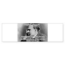 Christian Morality / Nietzsche Bumper Bumper Sticker