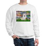 Lilies / Eskimo Spitz #1 Sweatshirt